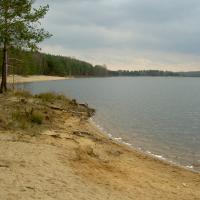 Pískovna Vlkov - jezero