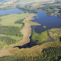 Velký a Malý Tisý National Nature Reserve - aerial picture