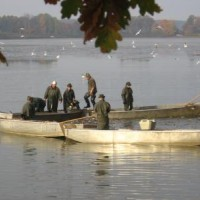 The haul of Velký Tisý Fishpond