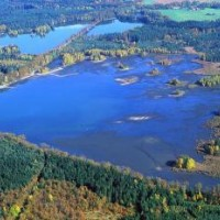 PR Rybníky u Vitmanova - letecký snímek