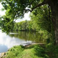 PR Staré Jezero - pohled z hráze