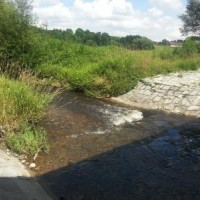 Zlatý potok - most Hracholusky