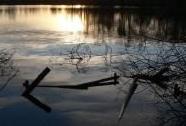 Západ slunce na Markvartickém rybníce | Autor: Jakub Čejka