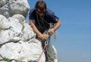 Na skalách v Soutěsce - jištění | Autor: Jiří Kmet
