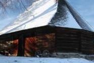 Polygonální stodola Pustá Rybná | Autor: Zdeněk Záliš