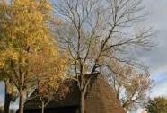 Dřevěná polygonální stodola | Autor: Petr Kuna